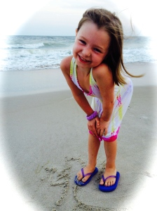 My precious daughter looks like a model!