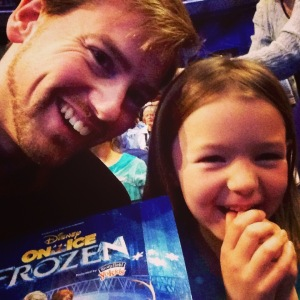 Elizabeth and I had a blast at Frozen on Ice!