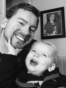 Ian's Birthday with Daddy